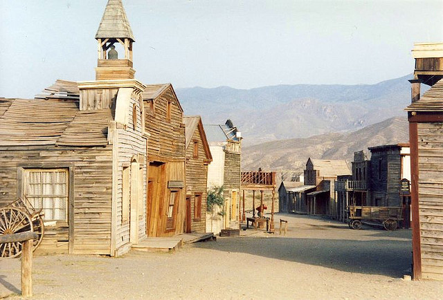 Photo by nicksarebi Almeria, Spain Spaghetti Western movie set