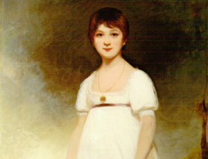 Portrait said to be of Jane Austen