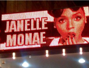 Janelle Monae marquis at the Vic