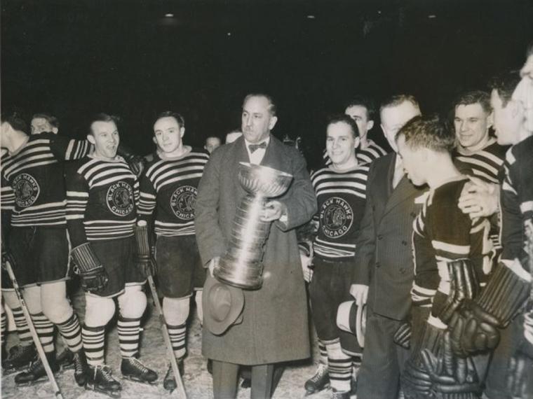 1934 Chicago Blackhawks Stanley Cup Champions  379e3e10e