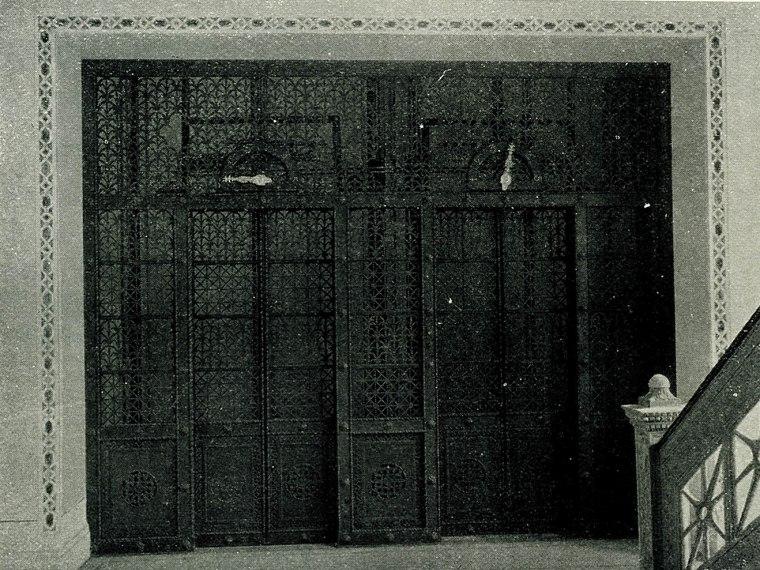 Fancy elevator doors