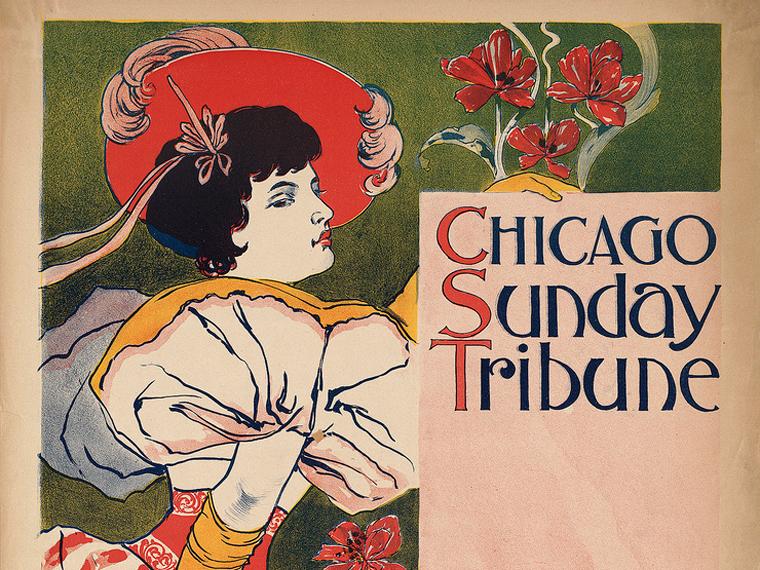 Chicago Sunday Tribune cover