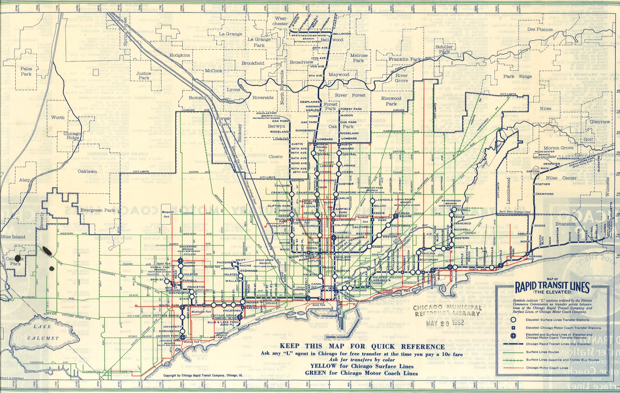 Technology That Changed Chicago The L Continued Chicago Public - Kenwood chicago map
