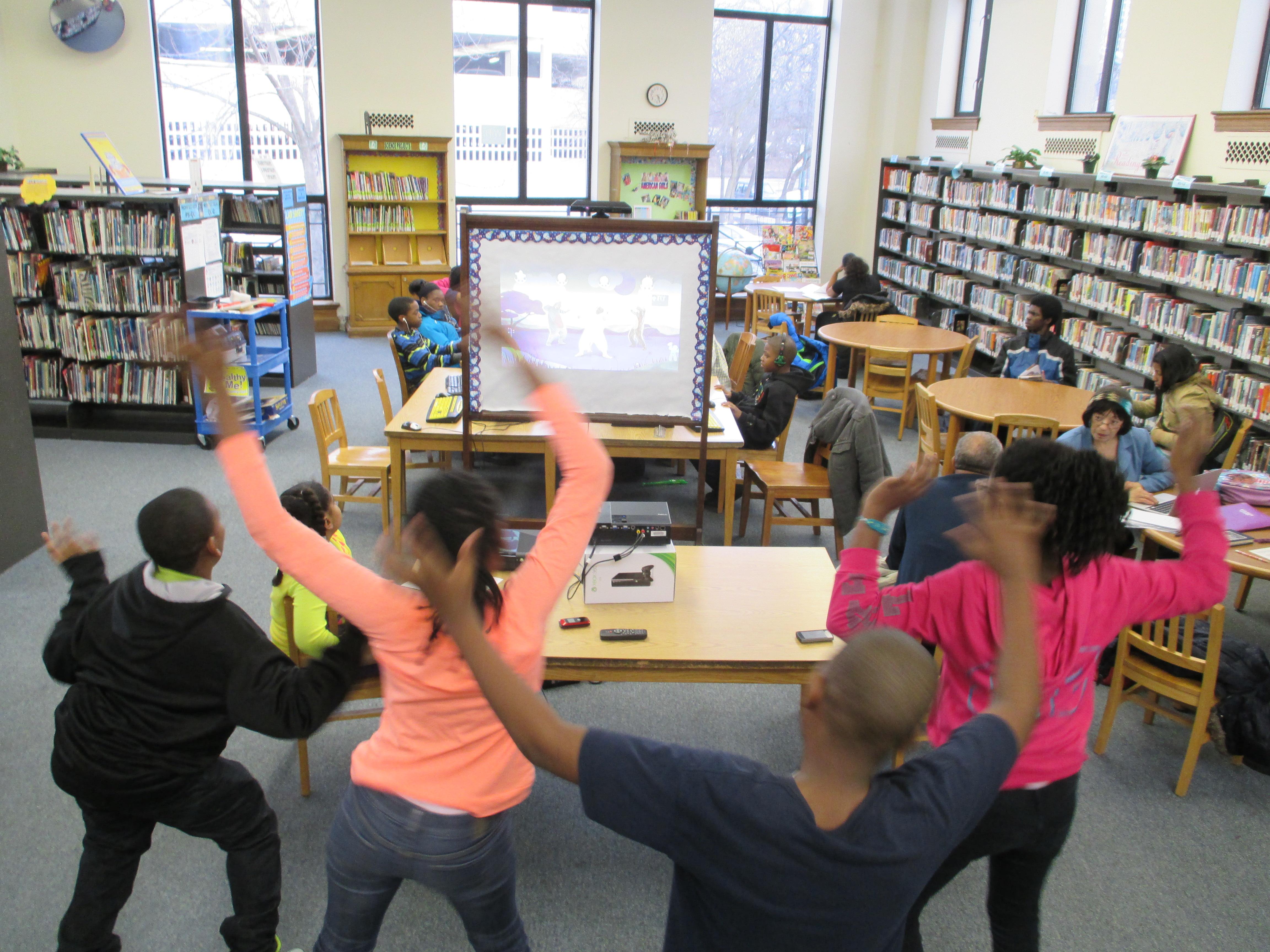 Blackstone Branch Dance Party Lets Kids Unwind Page 1 of 0