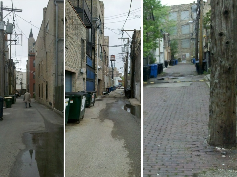 Three Chicago Alley photos