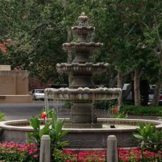 Tlaquepaque fountain Sedona, Arizona Source: Tmikula June 26, 2014