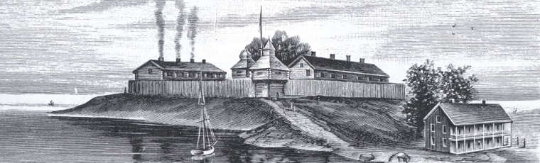 drawing of the fort