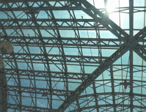 Winter Garden glass ceiling