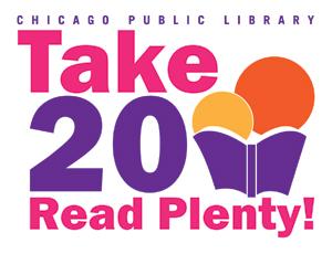 Take 20, Read Plenty! logo