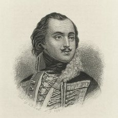 Engraving of Casimir Pulaski