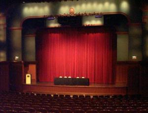 Cindy Pritzker Auditorium stage