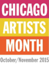 Chicago Artists Month logo