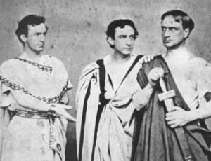 Booth brothers in Julius Caesar