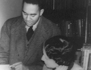 Richard Wright and Vivian Harsh