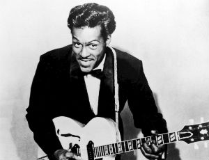 Publicity photo of Chuck Berry