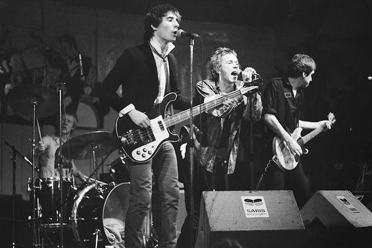 ex Pistols, 1977