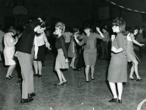 teens at a dance, circa 1960