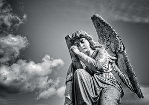 Victorian Tomb Angel